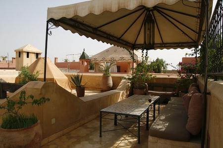 Confortable Riad à Marrakech, au Maroc