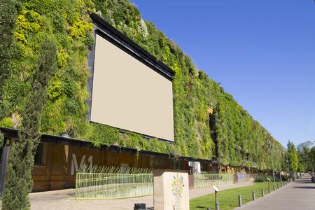 La construction durable, avec une façade verte