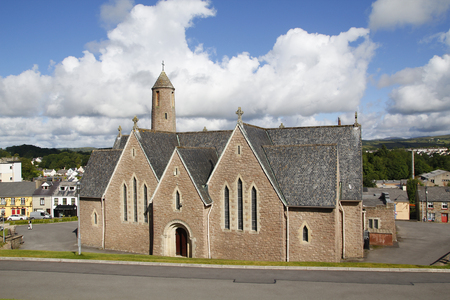 st patrick's: St Patricks church in Donegal, Ireland