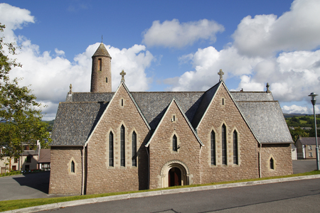 St Patrick's church in Donegal, Ireland Standard-Bild