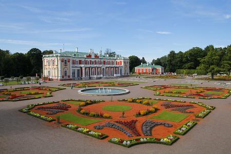 katherine: The Kadriorg palace and gardens in Kadrioru Park, Tallinn, Estonia