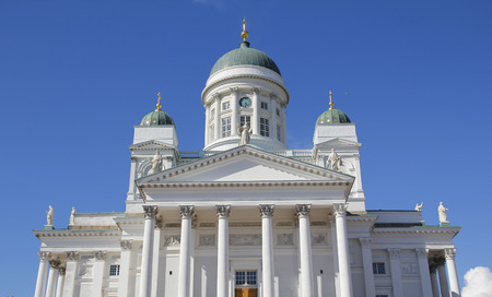 evangelical: Finnish Evangelical Lutheran cathedral of Helsinki, Finland. The church was originally built from 1830-1852