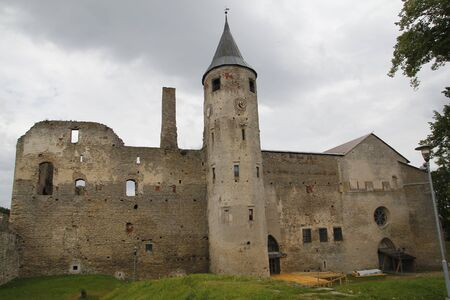 episcopal: Haapsalu episcopal castle in Estonia