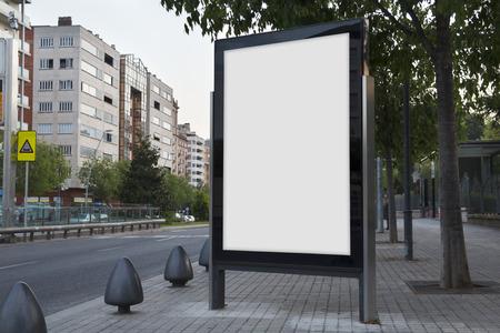 Le billard blanc se moque dans la rue Banque d'images