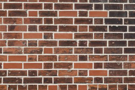 Brick wall, traditional construction way Banque d'images
