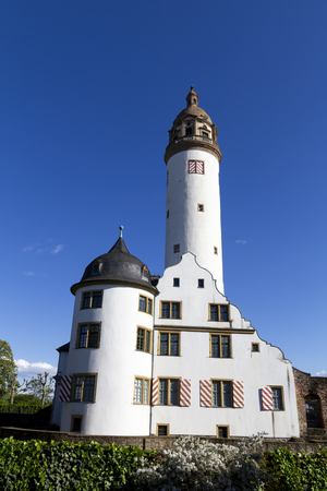 The Hochst castle in Frankfurt old town