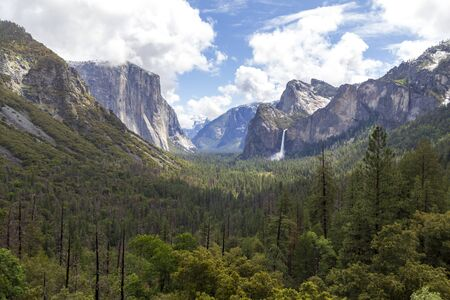 Tunnel view in Yosemite National Park, United States