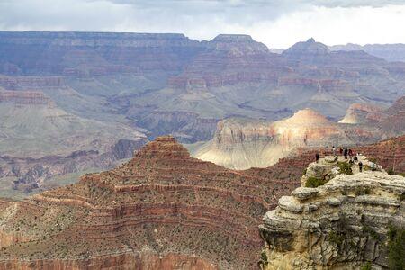 Eroded landscape in the Grand Canyon National Park, United States Reklamní fotografie