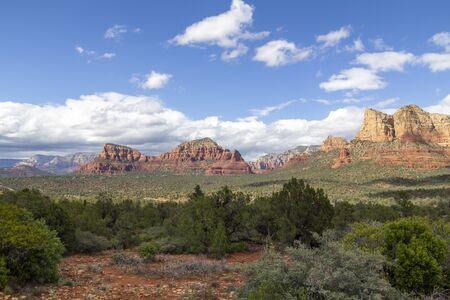 Landscape in Sedona, Arizona, United States Banco de Imagens