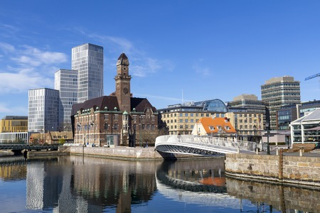 City view of Malmo, Sweden