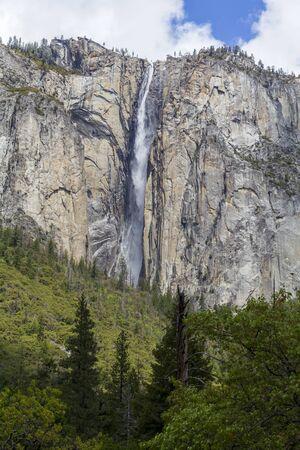 Waterfall in Yosemite National Park, United States