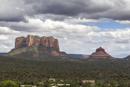 Landscape in Sedona, Arizona, United States Фото со стока