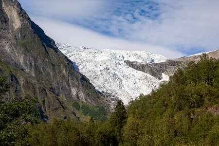 Boyabreen glacier in Josteldalsbreen National Park, Norway