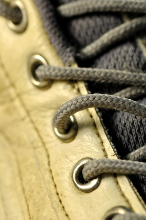 Macro shoelace  photo