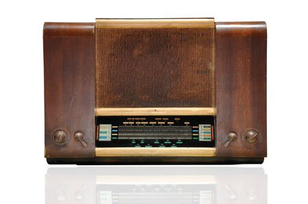 radio de madera de �poca photo