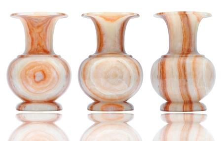 bedeck: vintage marble vase  Stock Photo