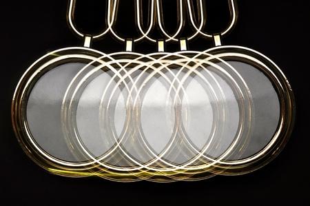 Abstract motion of pendulum swing Stock Photo - 15787541