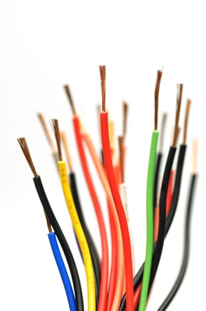 cable used in electrical wiring systems  photo