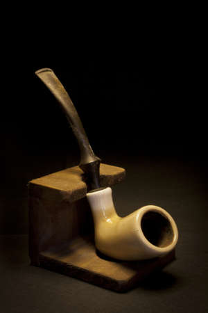 Still Life with a smoking pipe