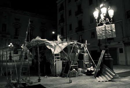 protest camp in Tarragona
