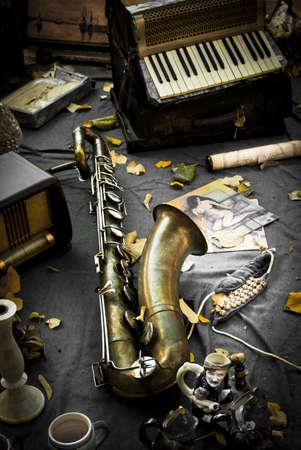acordeon: bodeg�n vintage, Girona