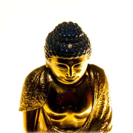 Buddha Still life with white background Stock Photo
