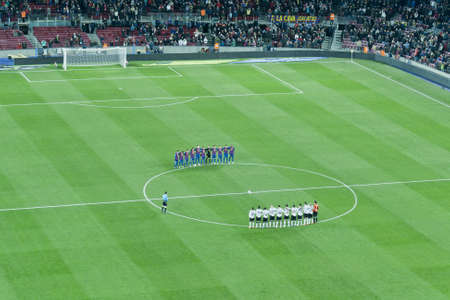 Footballers honor, moment of silence