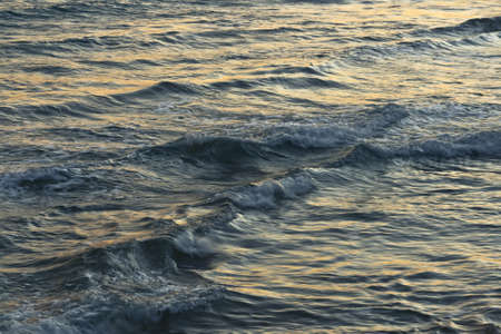 seascape detail during a sunset