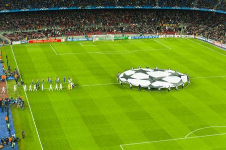 Bar�a-Bayer Leverkusen. Champions Leage (7-1)