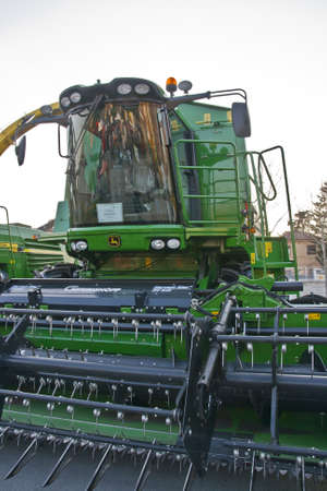 harvester from John Deere Editorial