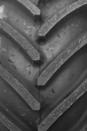 Detail of big John Deere wheel