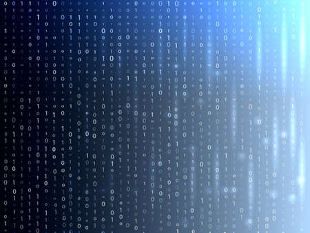 Matrix background. Vector illustration