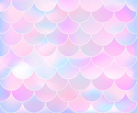 Mermaid scale pattern. Vector illustration for clothes, poster or banner