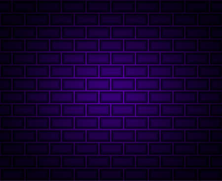 Brick seamless background. Vector illustration for poster or banner.