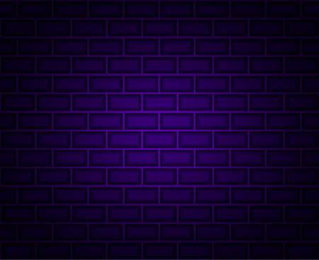 Brick seamless background. Vector illustration for poster or banner.