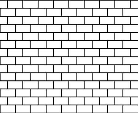 Brick seamless background. Vector illustration.