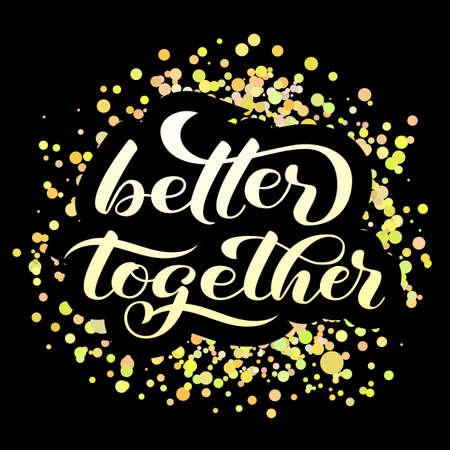 Thank you brush lettering. Vector illustration for banner or poster Illustration