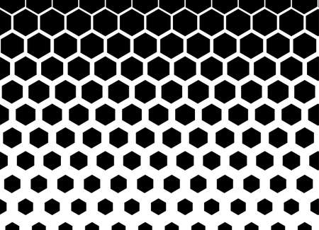 Honeycomb seamless background. Vector illustration for card or poster.