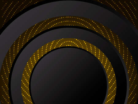 Abstract shiny golden background.  Vector illustration