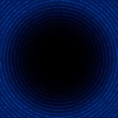 Abstract shiny blue background.  Vector illustration