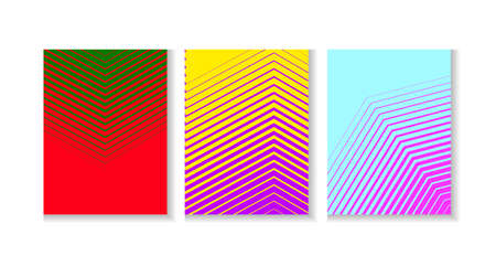 Abstract striped red and green background.  Vector illustration Illusztráció