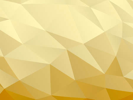 Beige abstract low poly background. Vector illustration for banner