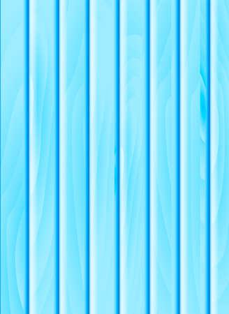 Blue wooden background. Vector illustration for card or banner
