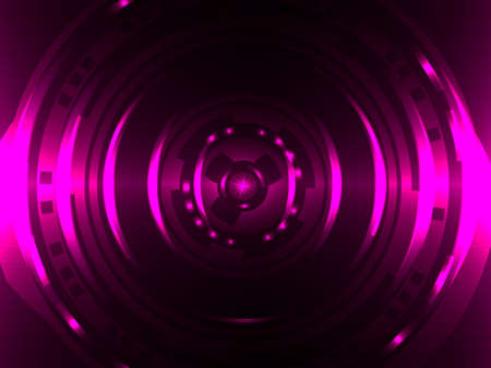 Purple abstract circle. Vector illustration for banner or card Stock fotó