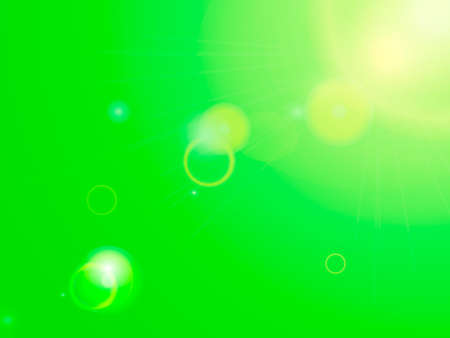 Green abstract background.  Vector illustration for card or banner