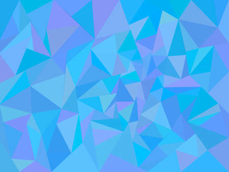 Blue abstract low poly background. Vector illustration for poster Ilustrace