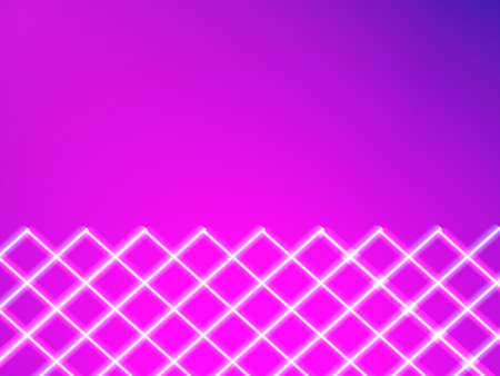 Neon striped lighting. Abstract background. Vector stock illustration for poster