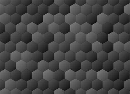 Honeycomb seamless background. Vector stock illustration for poster or banner