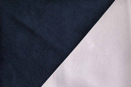 forniture: Black and white leather texture located diagonally