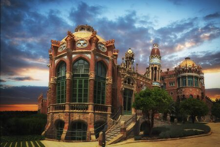 The Sant Pau Art Noveau site